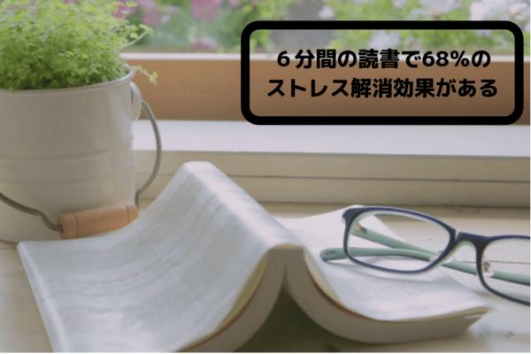 読書によるストレス軽減効果