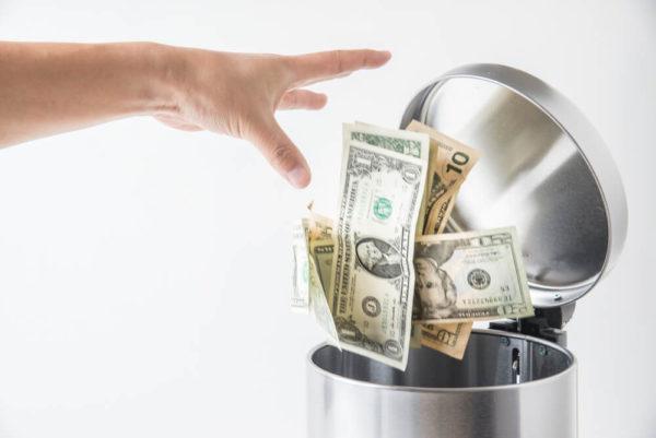 お金の浪費