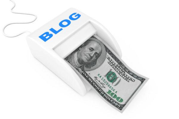 ブログで儲かるイメージ画像