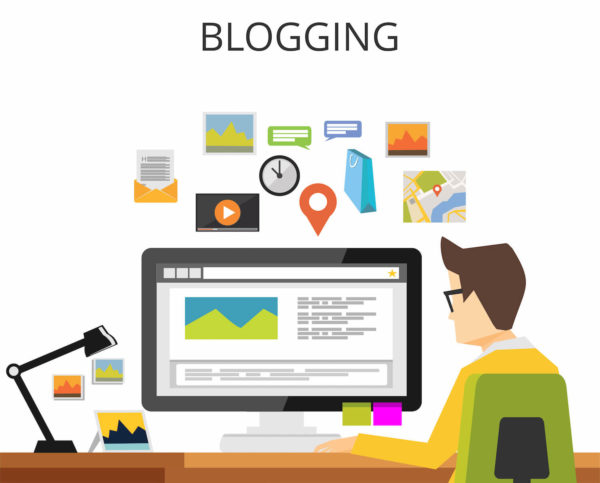 ブログを書く人のイメージ画像